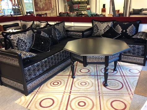 Salon Marocain 2015 Richbond Noir