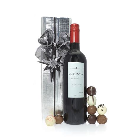 buy red wine christmas gift set