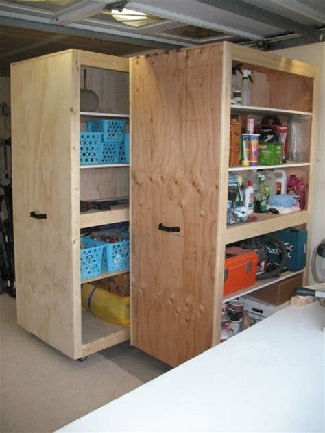 Garage Cabinets Rolling 252 Best Garage Storage Ideas Images On Garage