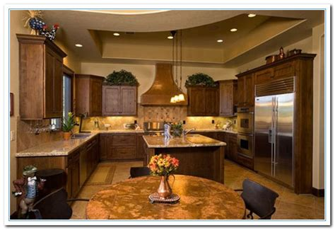 rustic kitchen design home  cabinet reviews