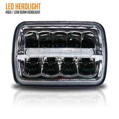 Jeep Xj Led Headlights 2x New Led 5 Quot X 7 Quot Led Headlight Replacement For Jeep