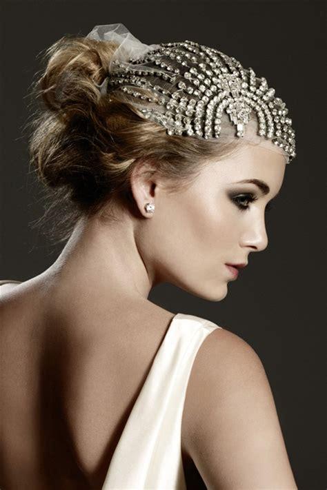 Vintage Bridal Hair by Vintage Wedding Headbands Weddings By Lilly