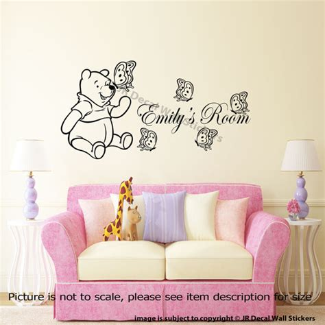 classic winnie the pooh wall stickers for nursery classic winnie the pooh nursery wall stickers 28 images