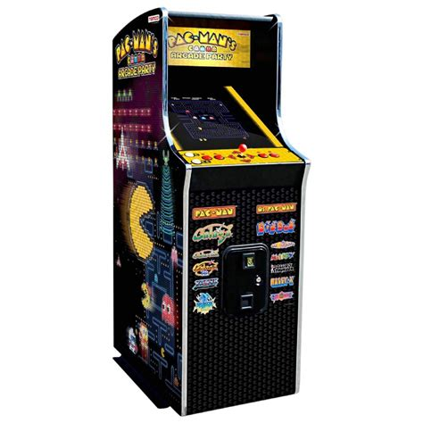 ms pacman arcade cabinet namco pac man s arcade party video game cabaret cabinet