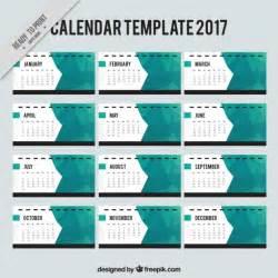 Vector Calendar Template by Abstract 2017 Calendar Template Vector Free