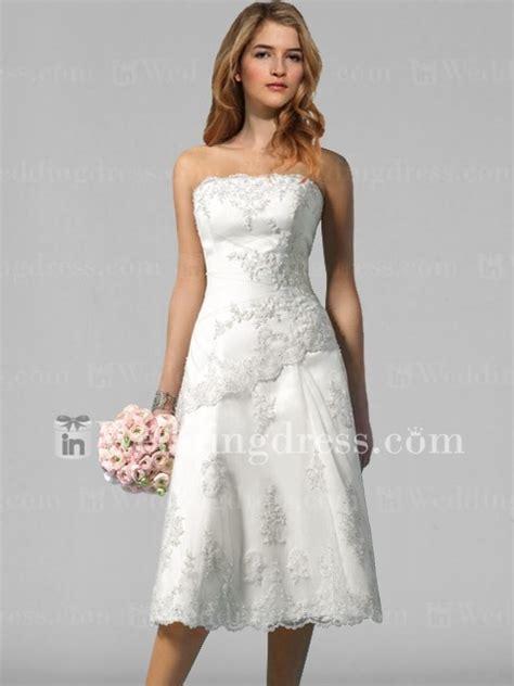 informal short wedding dress with bc001