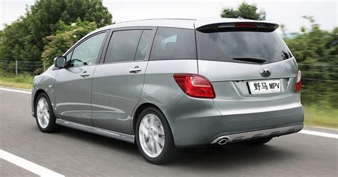 Mpv Auto by Yema Auto Develops S Mpv Derived From Mazda5 Chinaautoweb