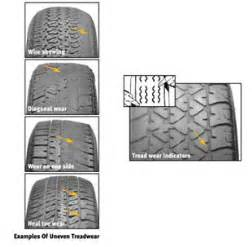 Trailer Tire Uneven Wear Signs Of Irregular Tire Wear