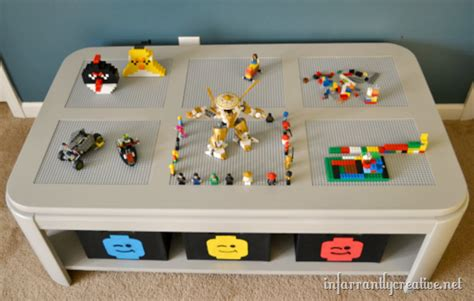 easy diy lego table diy lego table transformation