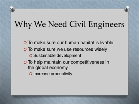 Which Specialization Is Best In Mba After Civil Engineering by Introduction To Civil Engineering Highlighting The High