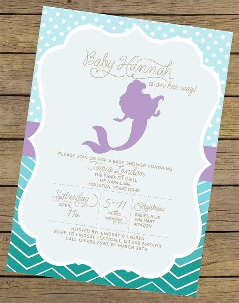 1000 ideas about mermaid baby showers on sea