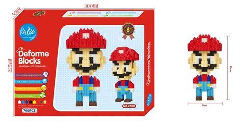 Deforme Block retail deforme blocks mario assembling blocks diy bricks building toys educational toys