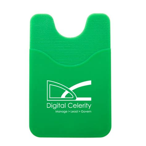 Custom Phone Green Day custom scoop front silicone phone wallet 4allpromos