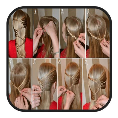 hairstyles step by step app download amazon com girls hairstyle steps appstore for android