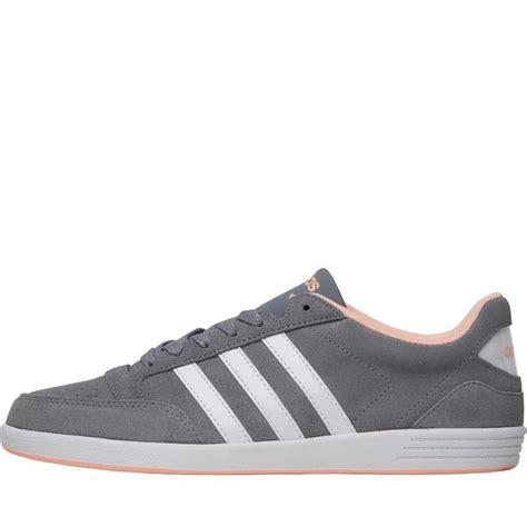 Adidas Neo V Leather Grey Black adidas neo vl court svart and hvit trainers