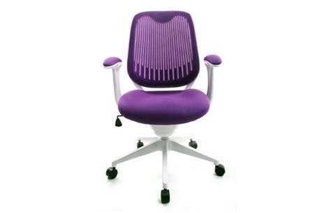 chaise de bureau violet