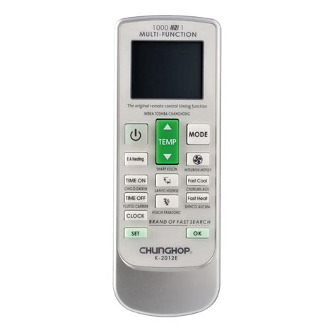 chunghop universal ac remote controller k 2012e white jakartanotebook