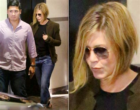 aniston hair extensions aniston s changing hair 2013 photos