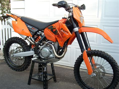 2007 Ktm 525 Exc Review Image Gallery 2007 Ktm 525 Exc