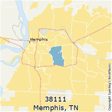 zip code map for memphis tn best places to live in memphis zip 38111 tennessee