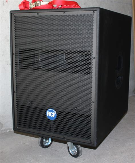 Home Audio Speaker Cabinets Rcf 4pro 8002 As Image 344318 Audiofanzine