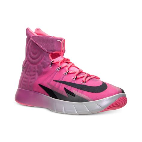 pink basketball shoes nike hyper quickness basketball shoes memes