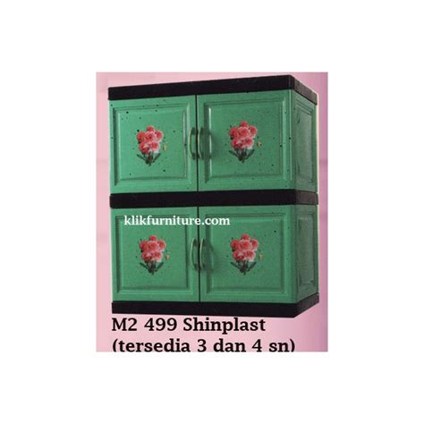 Rak Container Plastik Container Plastik Shinplast Tipe 499 Bentuk Lemari Baju