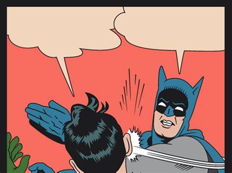 Memes De Batman Y Robin En Espaã Ol - el meme de batman cacheteando a robin cumple 50 a 241 os