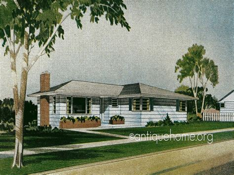 1950s home retro 1950s style homes 1950s ranch style home plans