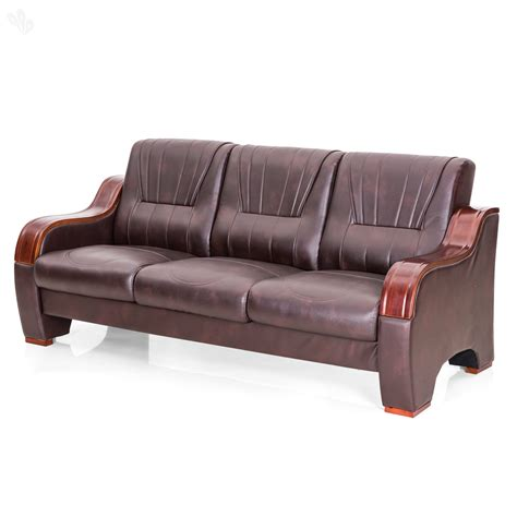 sofa set buy royaloak barcelona sofa set with brown upholstery
