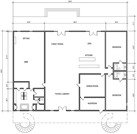 floor plans for metal building homes metal building homes general steel metal houses