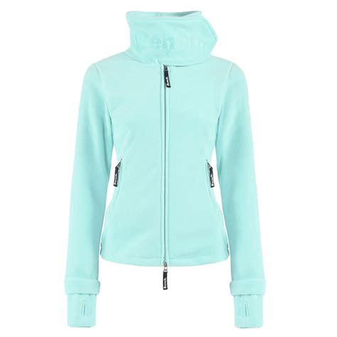 bench funnel neck bench funnel neck damen fleecejacke blea0021 t 252 rkis tq001 online kaufen