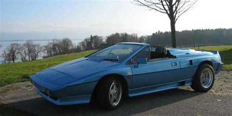 lotus esprit convertible st tropez roadster