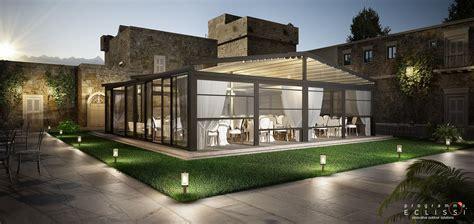 Decor Beautiful Modern Home Design Ideas With Pergola