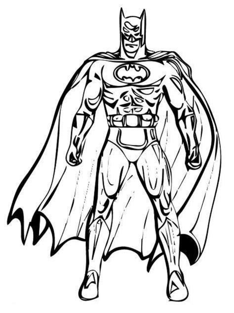 Get This Printable Batman Coloring Pages 810606 Batman Pictures For Coloring