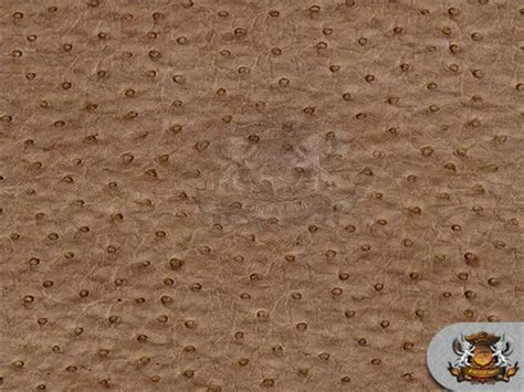 Vinyl Ostrich Upholstery Fabric by Vinyl Leather Ostrich Emu Mocha Upholstery Leather