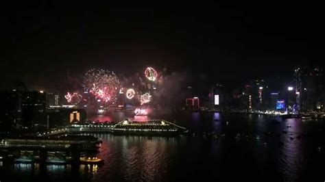 hong kong new year show 2015 new year s fireworks in hong kong 香港2015 除夕煙火