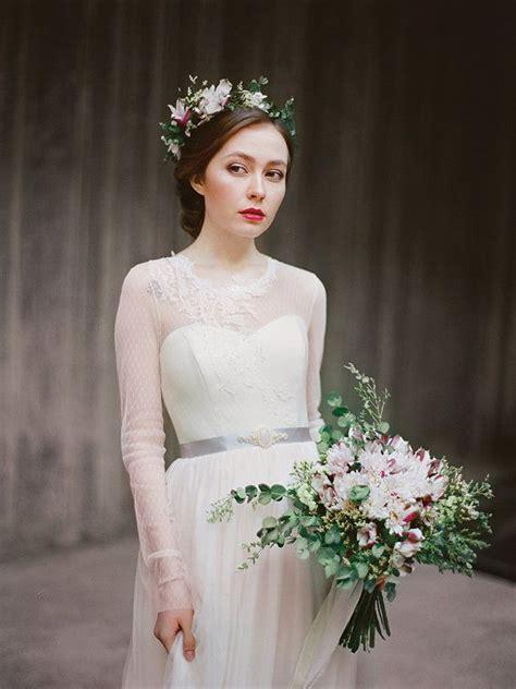 Agnia Dress bohemian sleeved wedding dress quot agnia quot tulle wedding