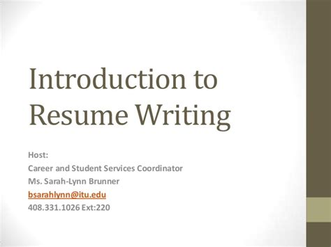 Introduction To Letter Writing Ppt Cover Letter Writing Ppt Costa Sol Real Estate And