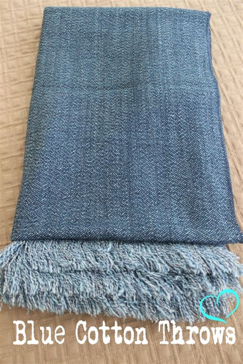 blue throws for sofas blue cotton throw denim throw bed or sofa rug soft throw