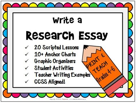 how to teach writing a research paper 17 best images about research paper on student