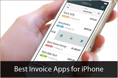 best invoicing apps for iphone ditch paper and get paid best invoice apps for iphone meet the competitive demands