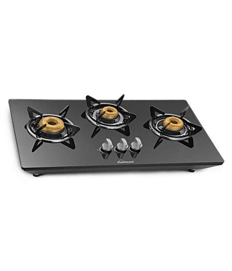 best burner sunflame ct hob 3 burner auto hob top available at