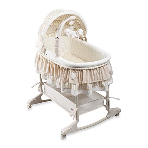 in bed bassinet buy rocking bassinet from bed bath beyond