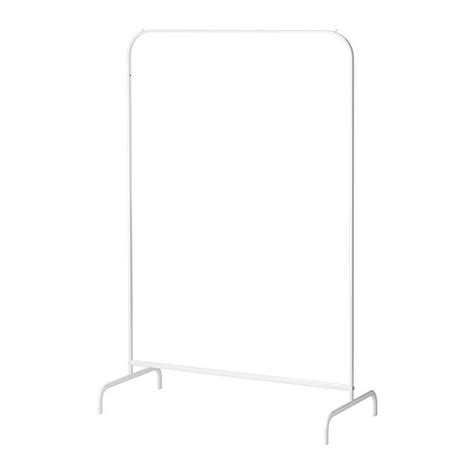 Mulig Clothes Rack new ikea mulig clothes garment coat rack fixture organizer display white metal ebay
