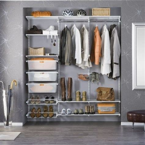 Elfa Wardrobe System by 25 Best Ideas About Elfa Closet On