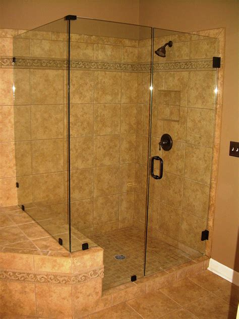 Showers With Glass Doors Frameless Sliding 90 Degree Neo Angle Shower Doors Gallery