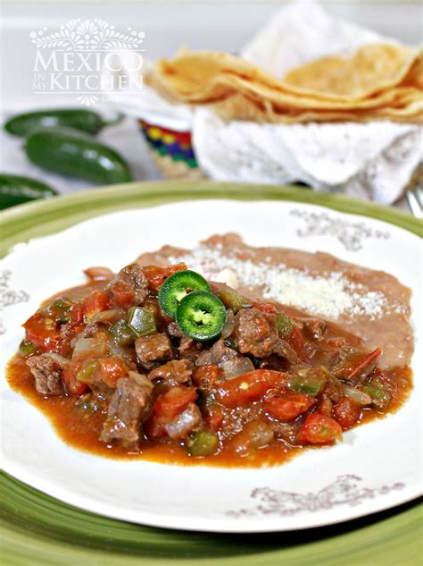 the mexican cookbook authentic recipes from a mexican table books a beef stew to serve with flour tortillas traditional
