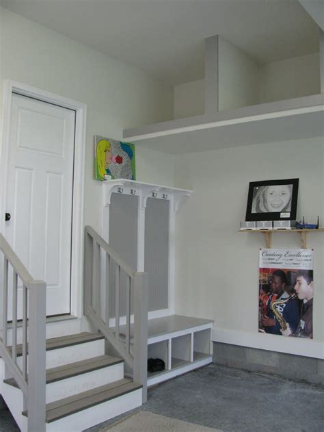 garage mudroom designs 25 best ideas about garage steps on stair and step lights smart four and solar