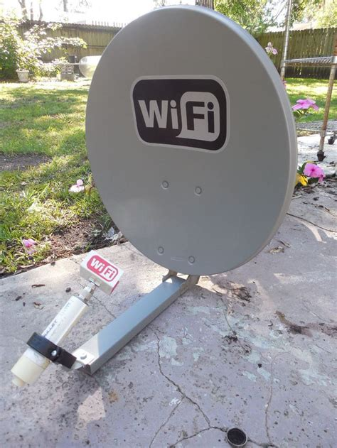 details   ghz dbi wifi booster dish feed long